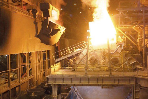 Overhaul of the steel mill hot metal agitator begins}