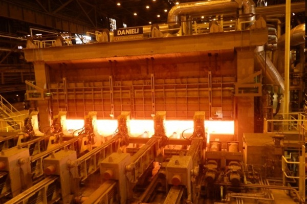 New heating furnace in the Hot-Rolling Mill}